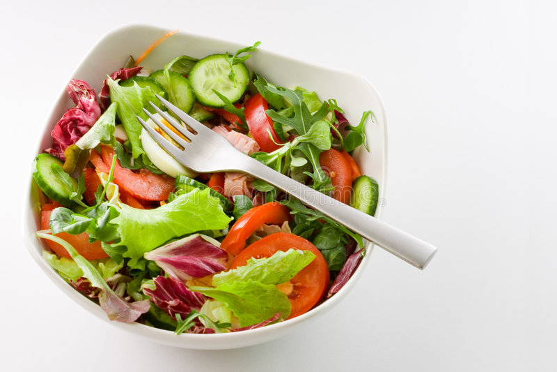 Salad Bowl royalty free stock photo