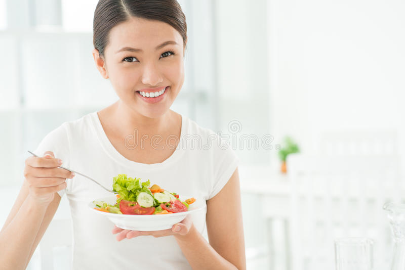 Download Salad for breakfast stock image. Image of nutrition, nutrients - 31998879