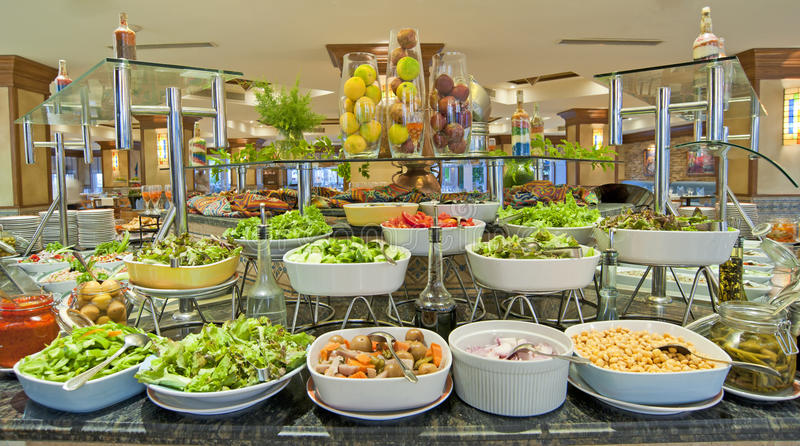 Download Salad Buffet In A Luxury Hotel Restaurant Stock Image - Image: 16218007