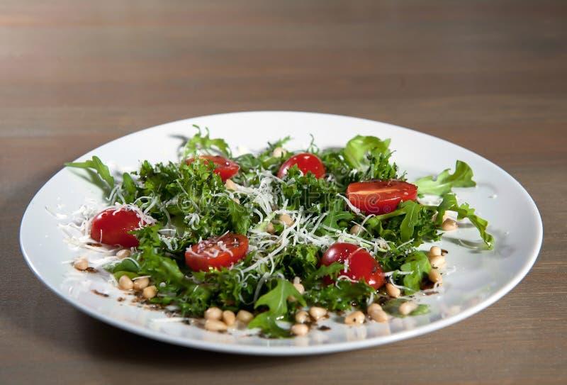 Salad cherry tomatoes stock photography