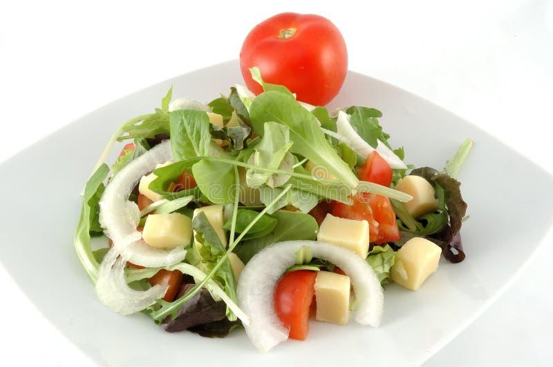 Download Salad dish stock image. Image of fork, restaurant, appetizing - 11855399