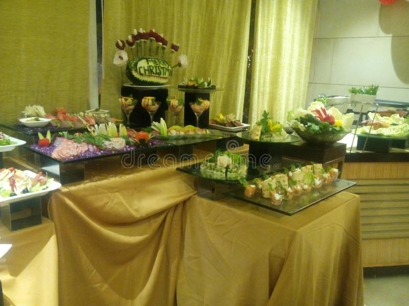 Salad Garnish p stock photography