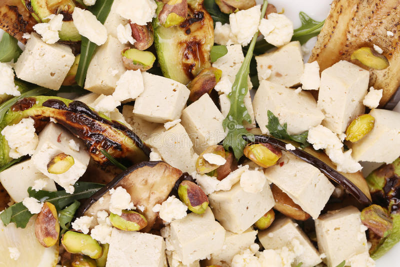 Download Salad With Grilled Vegetables And Tofu Stock Image - Image: 41530061