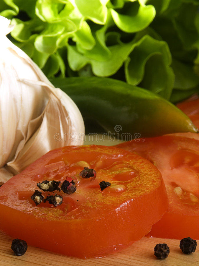 Download Salad ingredients IV stock photo. Image of high, cultivating - 745880