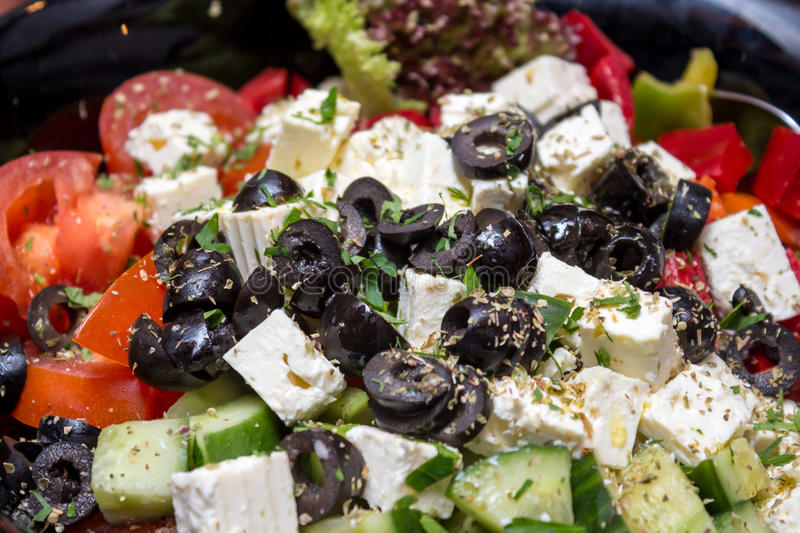 Download Salad stock photo. Image of slices, eastern, black, delicious - 29894312