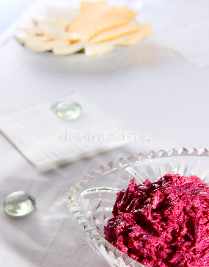 Download Salad from red beet stock photo. Image of holiday, vegetables - 14817988