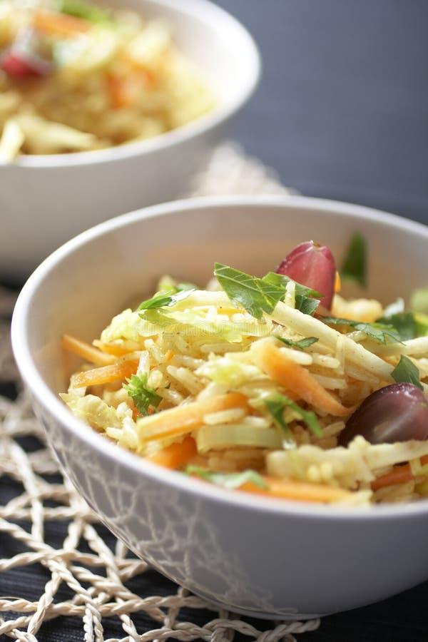 Salad Rice Stock Photo