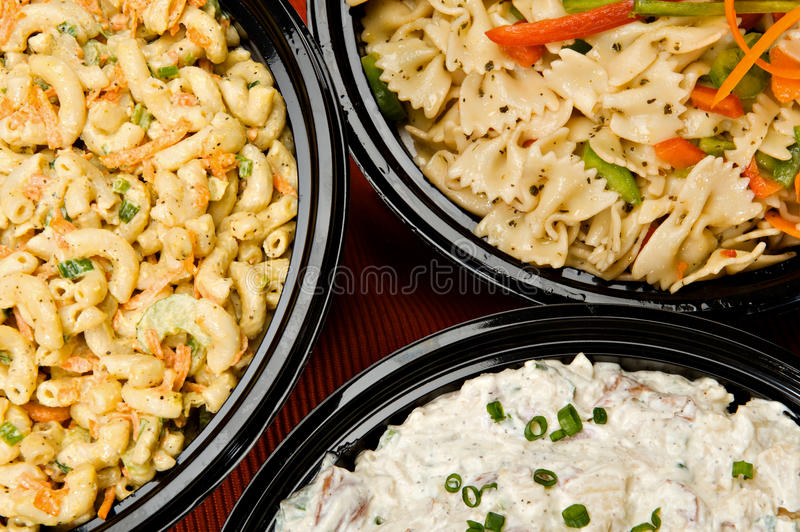 Salad Side Dishes stock images