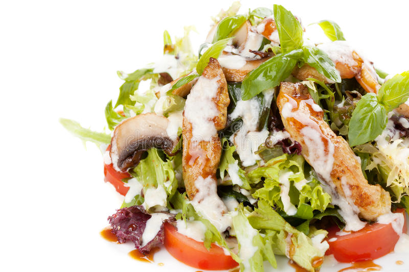 Download Salad With Vegetables And Fish Stock Photo - Image: 31234594