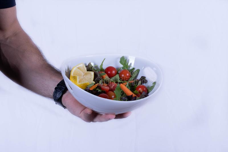 Salad vegetables nutrition healthy health people  nutritionist website white background isolated. Salad vegetables nutrition healthy health people nutritionist stock images