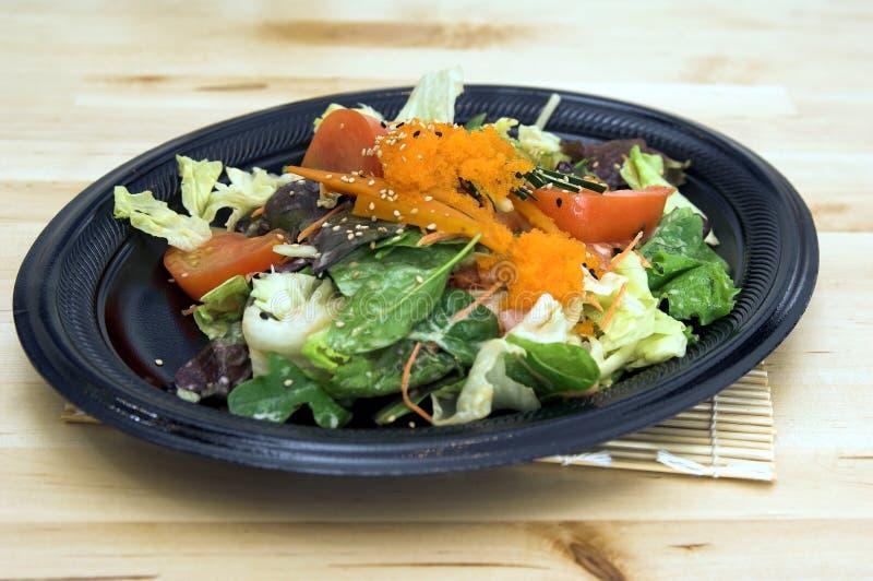 Salada asiática fotografia de stock