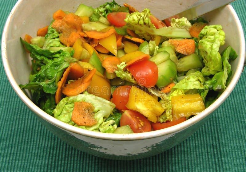 Salada Assorted fotografia de stock royalty free