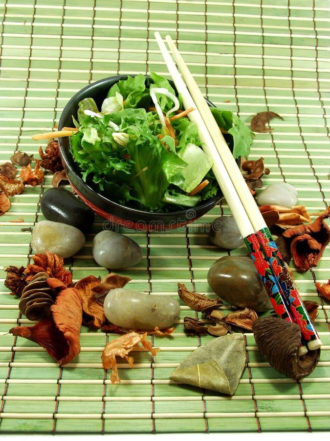 Salada chinesa imagem de stock royalty free