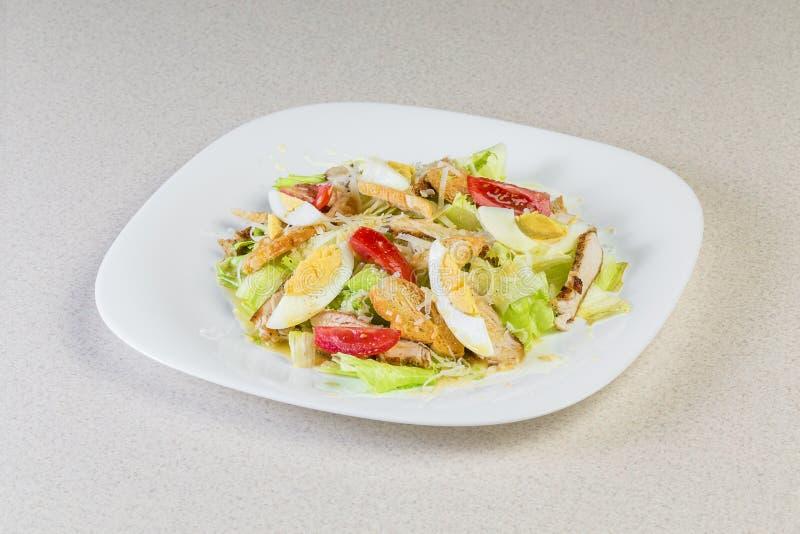 Salada com ovos imagens de stock royalty free