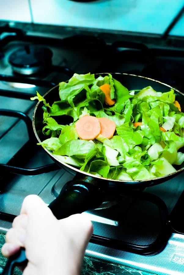 Salada da bandeja fotografia de stock royalty free