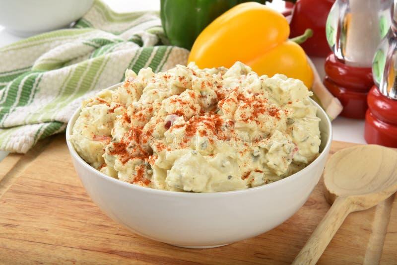 Salada da batata imagem de stock