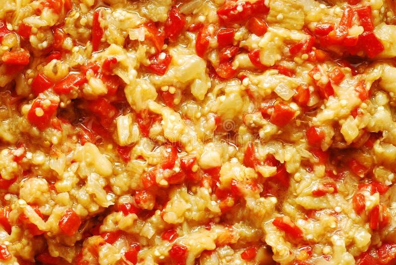 Salada da beringela fotografia de stock royalty free