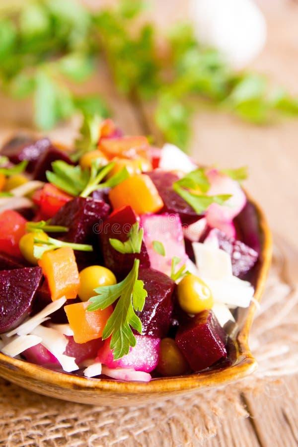 Salada da beterraba imagens de stock