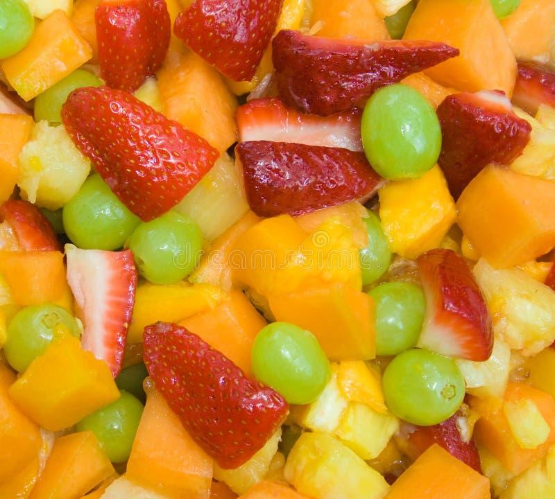 Salada da fruta fresca fotografia de stock royalty free