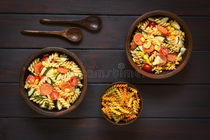 Salada da massa foto de stock