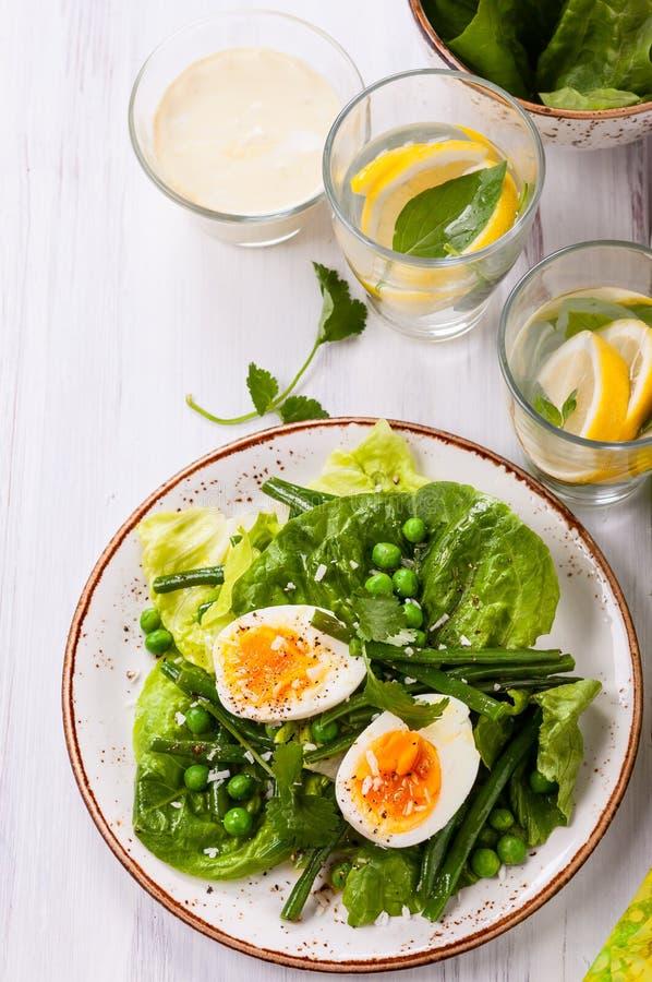 Salada da mola fotografia de stock