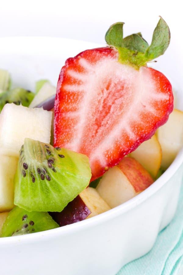 Salada da morango e de fruta fotos de stock