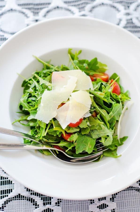 Salada da rúcula imagem de stock royalty free