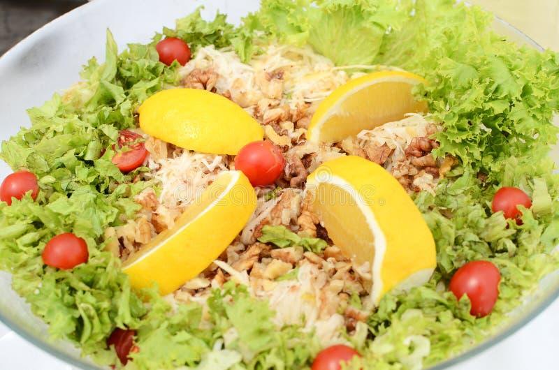 Salada da raiz de aipo fotos de stock