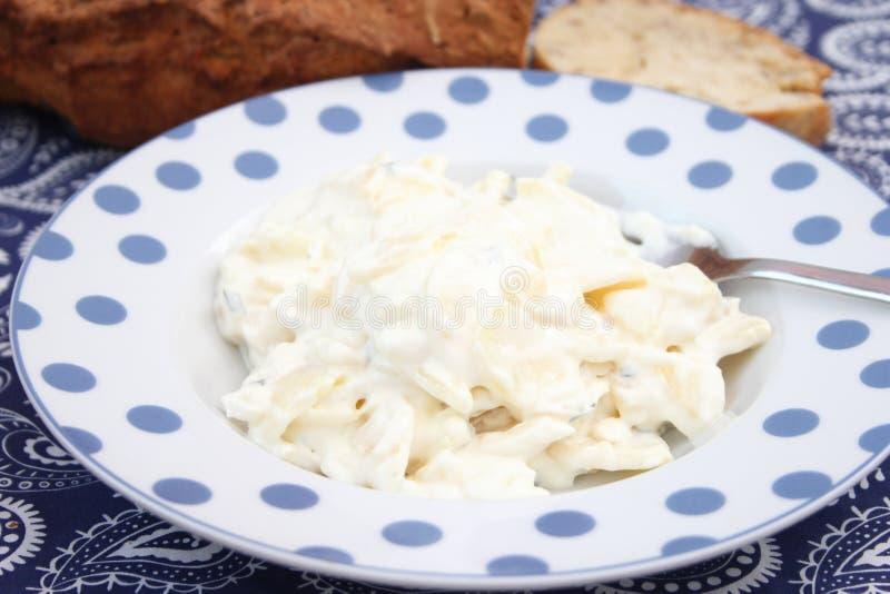 Salada das batatas fotografia de stock