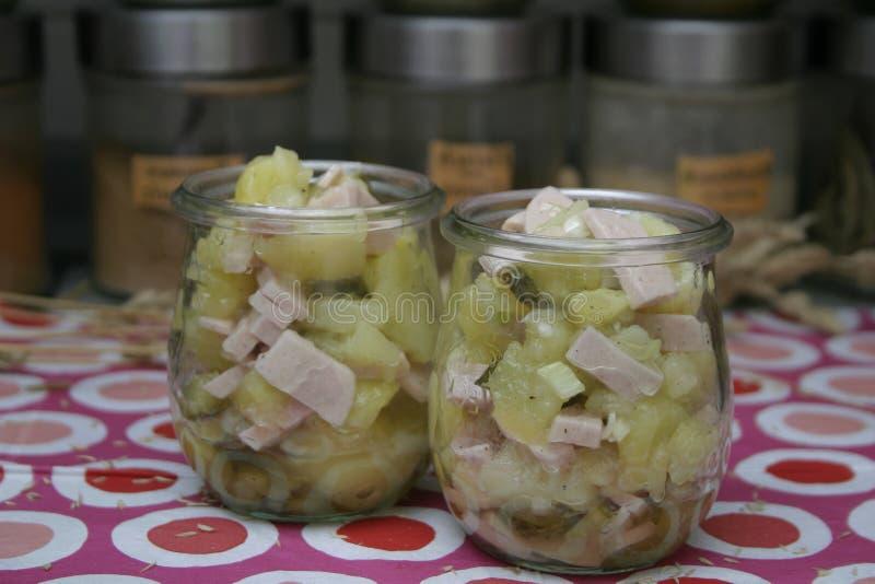 Salada das batatas foto de stock royalty free