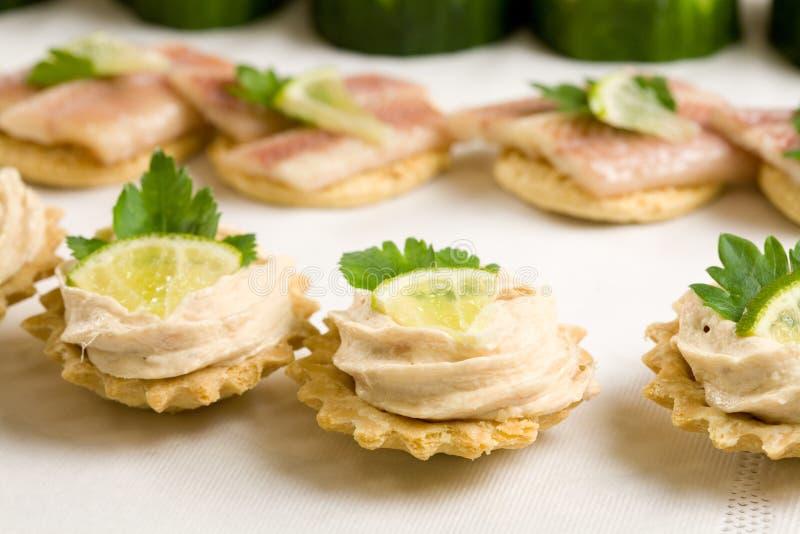 Salada de atum no brinde fotos de stock royalty free