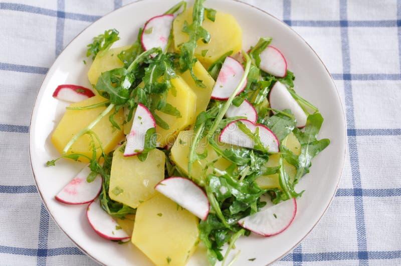 Salada de batata imagem de stock
