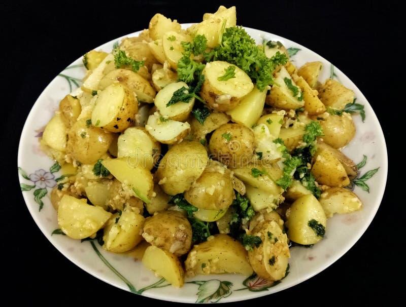 Salada de batata amanteigada imagem de stock royalty free