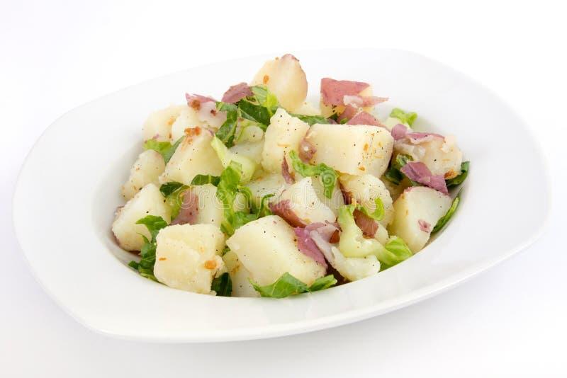 Salada de batata de caesar fotos de stock