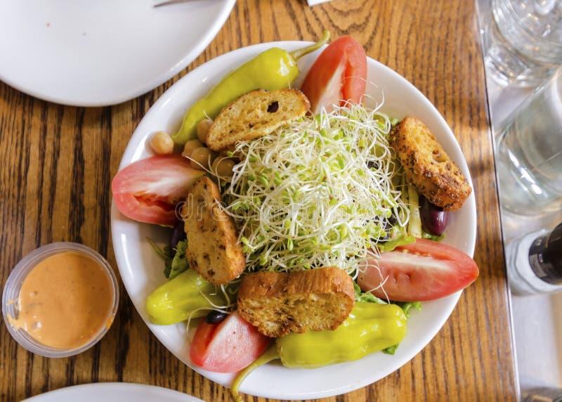 Salada de Beansprout fotos de stock