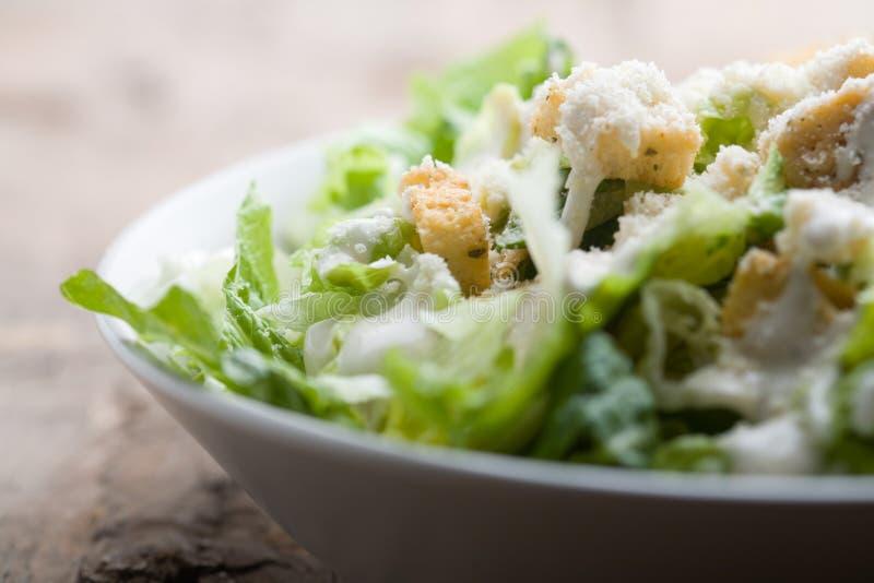 Salada de Caesar fotografia de stock royalty free