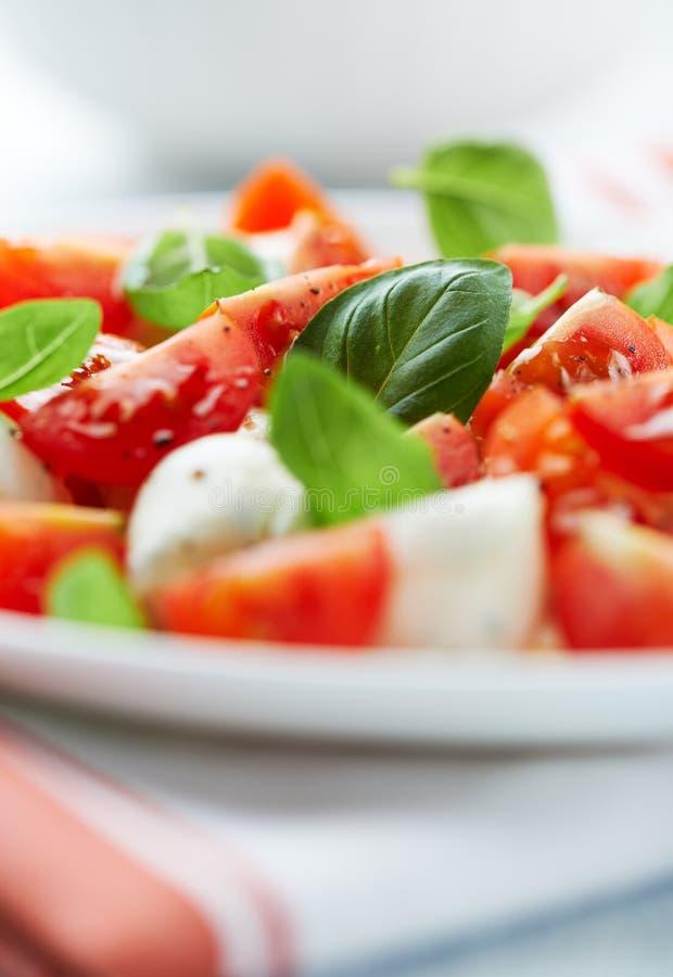 Salada de Caprese imagens de stock
