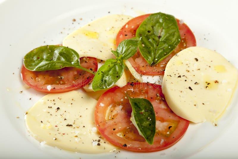 Salada de Capresse foto de stock