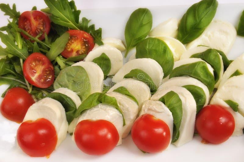 Salada de Capri fotos de stock royalty free
