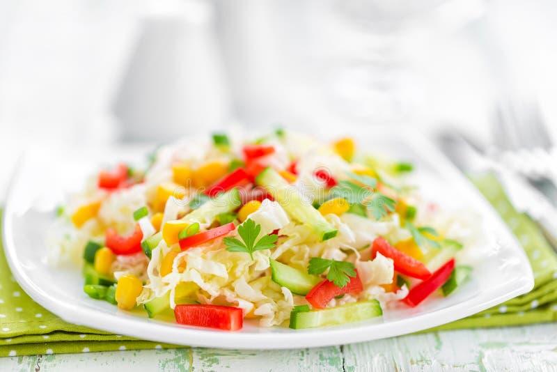 Salada de couve fotos de stock royalty free