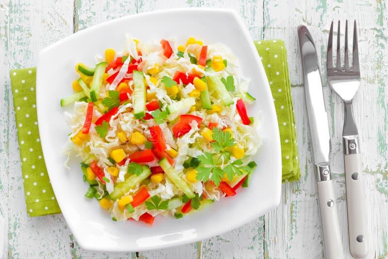 Salada de couve foto de stock