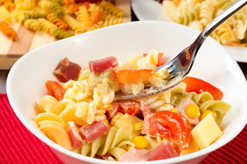 Salada de creme imagem de stock royalty free