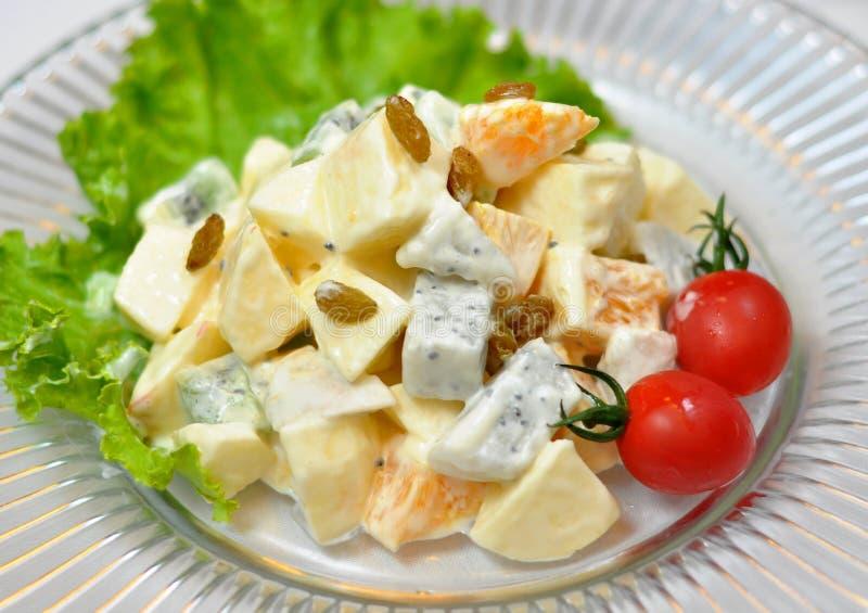Salada de fruta fotos de stock royalty free