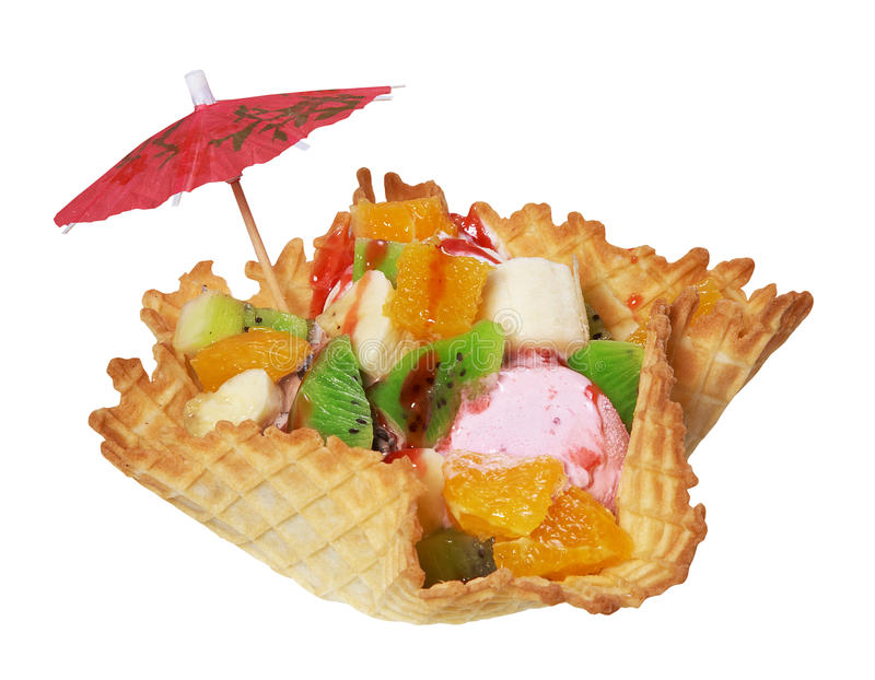 Salada de fruta fresca fotos de stock royalty free