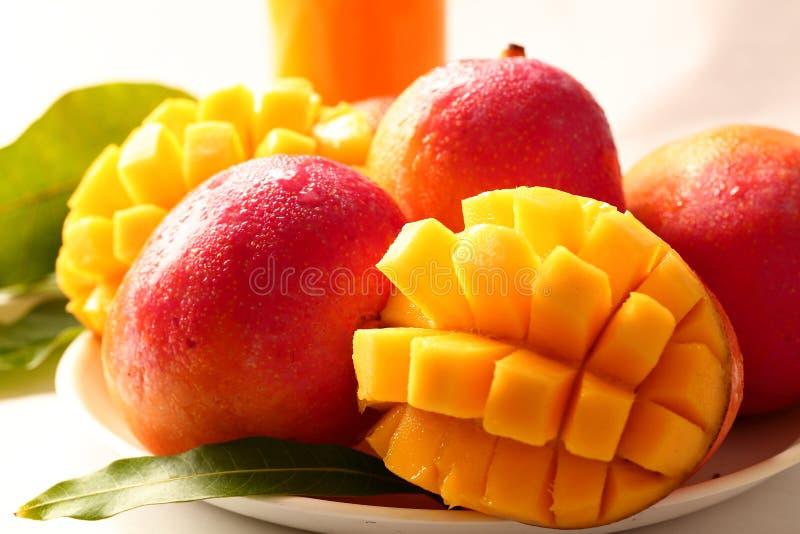 Salada de fruto fresca da manga da refei??o saud?vel fotos de stock