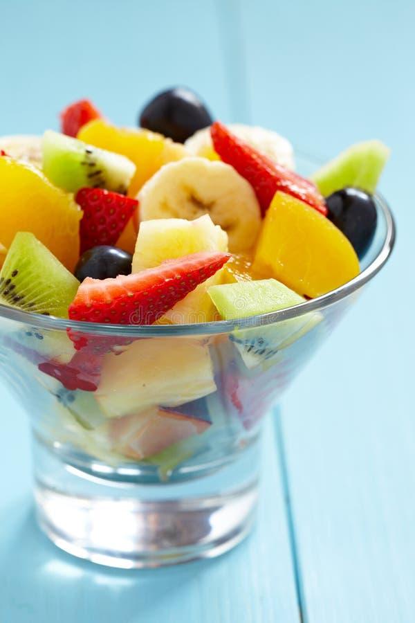 Salada de frutos frescos imagem de stock royalty free