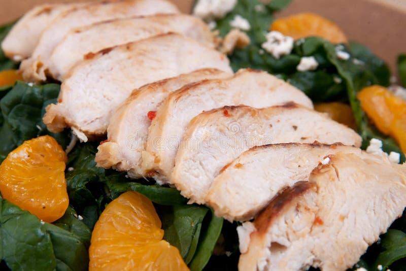 Salada de galinha do mandarino imagem de stock royalty free