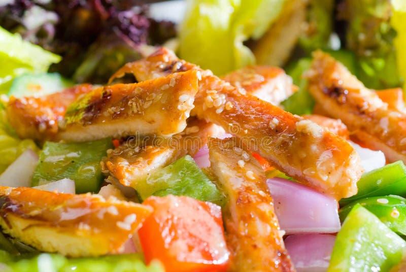 Download Salada De Galinha Do Sésamo Imagem de Stock - Imagem de coma, jantar: 12804855