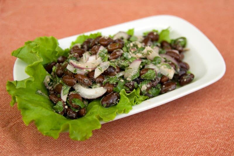 Salada de Lobio imagens de stock