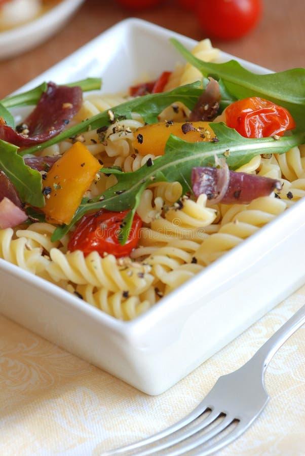 Salada de massa imagens de stock royalty free